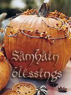 pumpkin samhain blessing